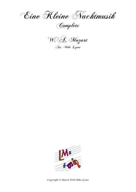 Brass Sextet - Mozart - Eine Kleine Nachtmusik (Complete)