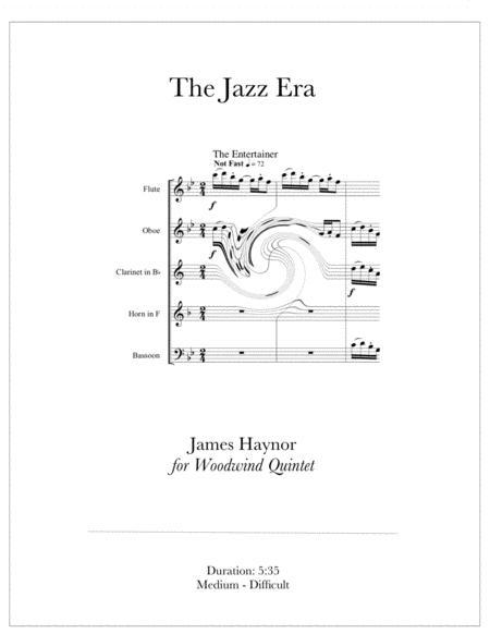 The Jazz Era for Woodwind Quintet
