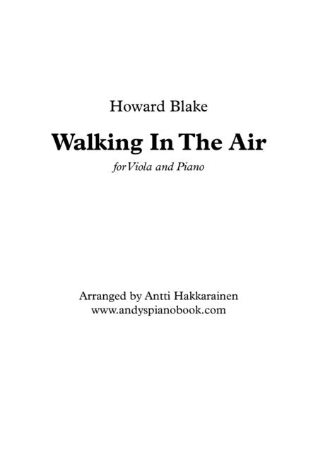 Walking In The Air - Viola & Piano