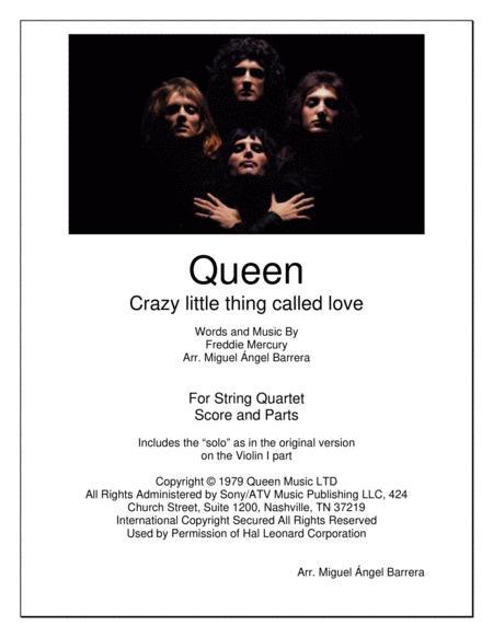 Crazy Little Thing Called Love, Queen, String Quartet