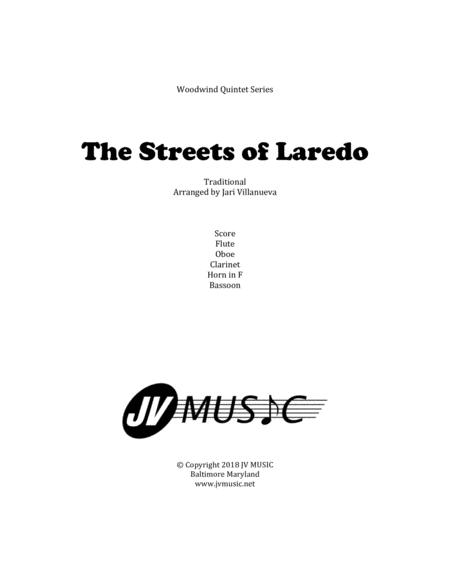 The Streets of Laredo for Woodwind Quintet