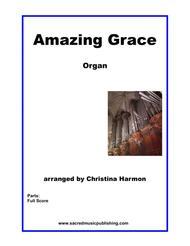 Amazing Grace - Organ