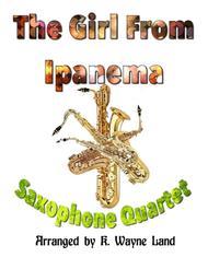 The Girl From Ipanema (Garota De Ipanema) (Saxophone Quartet)