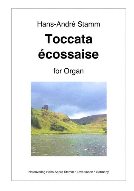 Toccata ecossaise for organ