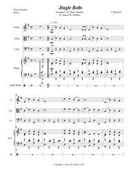 Jingle Bells for Piano Quartet