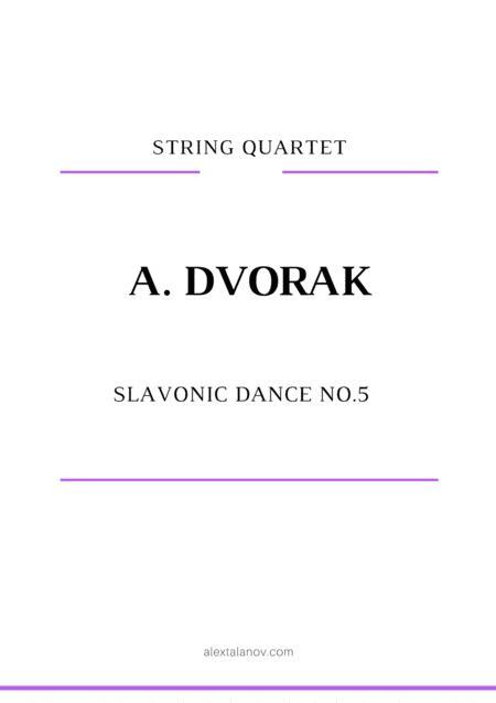 Slavonic Dance No.5