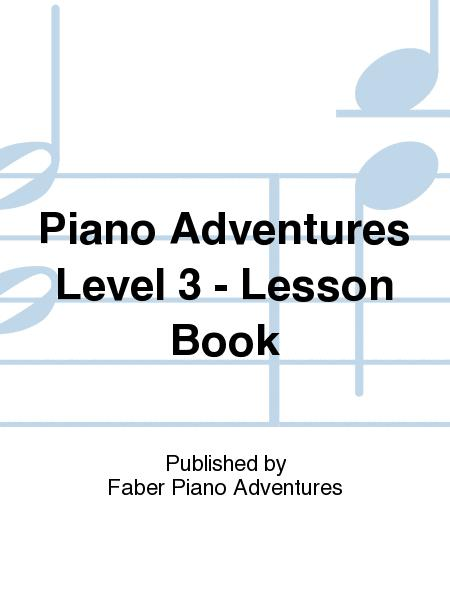 piano adventures level 3 lesson book by method book. Black Bedroom Furniture Sets. Home Design Ideas
