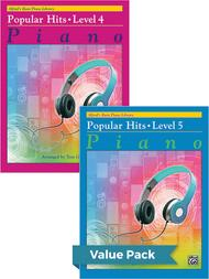 Alfred's Basic Piano Course: Popular Hits, Levels 4 & 5