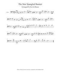 The Star Spangled Banner - Cello
