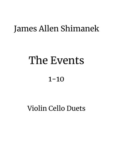 The Events 1-10