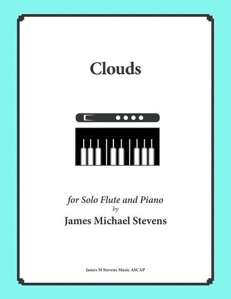 Clouds - Reflective Flute & Piano