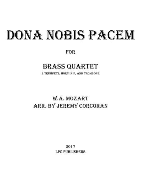 Dona Nobis Pacem for Brass Quartet