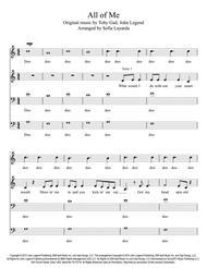 All of Me - John Legend - 4-Part Female Voices