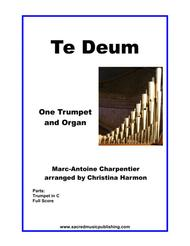 Te Deum, Charpentier - Two Trumpets and Organ with Optional 3rd Trumpet