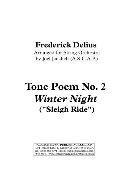 Tone Poem No. 2: Winter Night (Sleigh Ride)