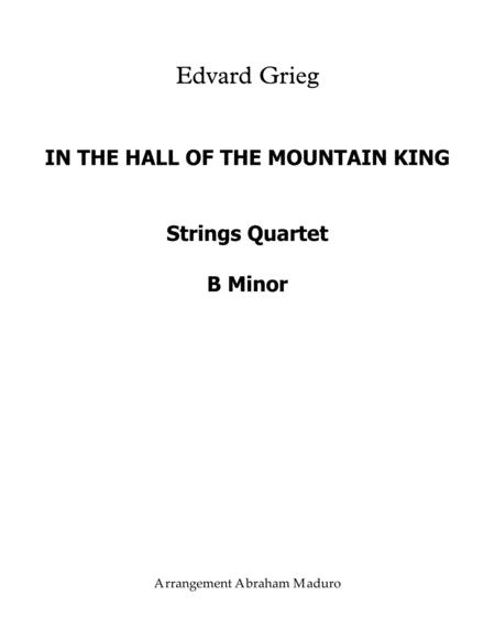 In The Hall Of The Mountain King Easy String Quartet