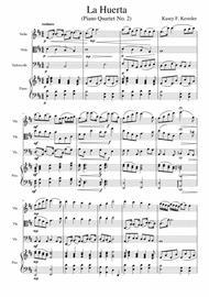 La Huerta (The Orchard) Piano Quartet No.2