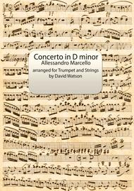 Concerto in D minor for Trumpet and Strings