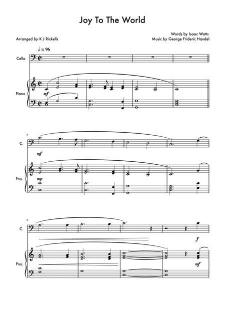Joy To The World - Cello Solo