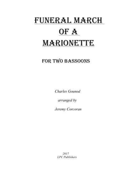 Funeral March of a Marionette for Two Bassoons