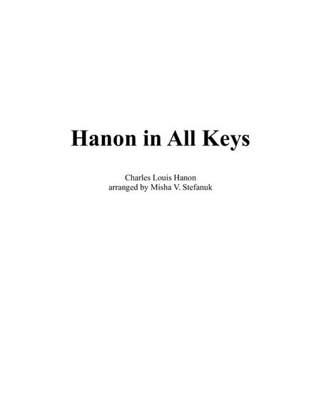 Hanon in All Keys