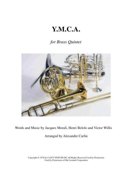 Y.M.C.A. - Brass quintet