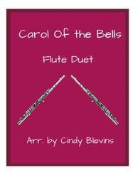 Carol of the Bells, arranged for Flute Duet