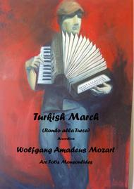 Turkish March (Rondo alla Turca) for solo Accordion
