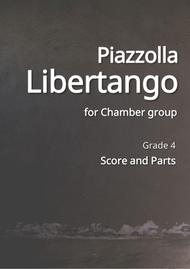 Libertango for String quintet, Clarinet, Piano
