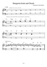 Hungarian Scale and Chords