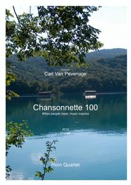 CH100HORN - The most beautiful Chorale - Horn quartet
