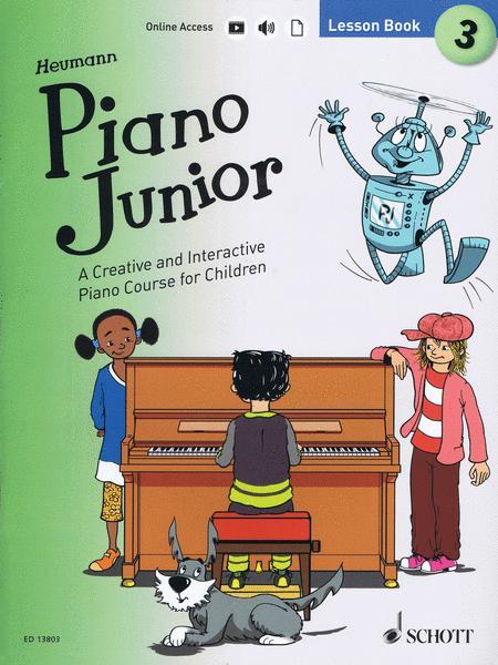 Piano Junior: Lesson Book 3 Vol. 3