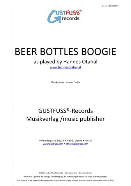 Beer Bottles Boogie - as played by Hannes Otahal
