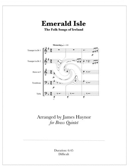 Emerald Isle - The Folk Songs of Ireland for Brass Quintet