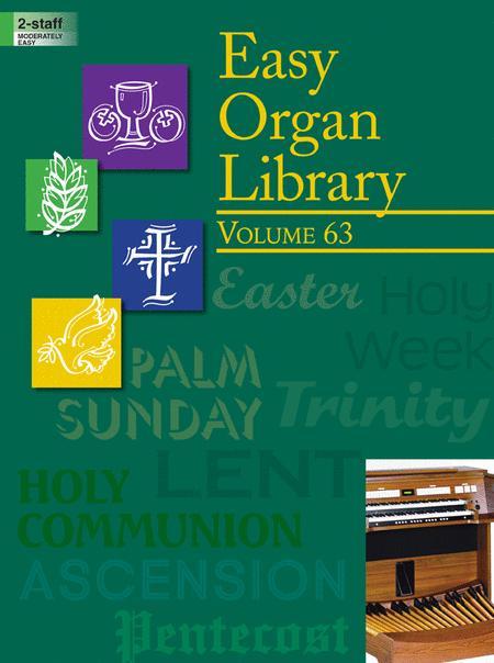 Easy Organ Library, Vol. 63