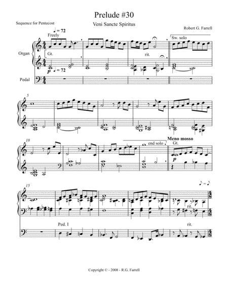 Organ Prelude #30