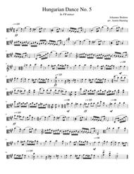 Hungarian Dance No. 5, for Solo Viola