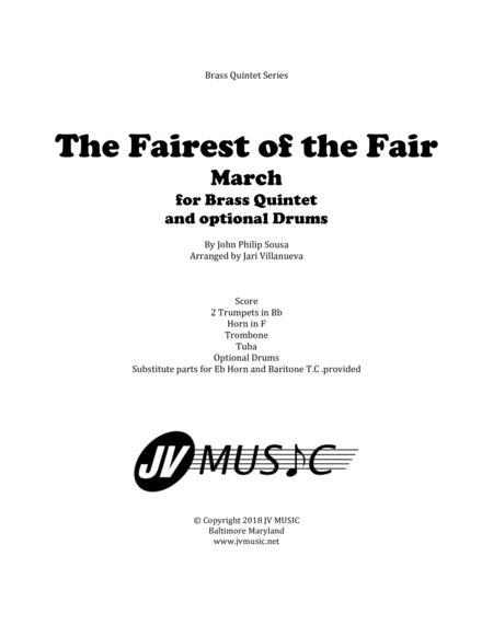 The Fairest of the Fair for Brass Quintet