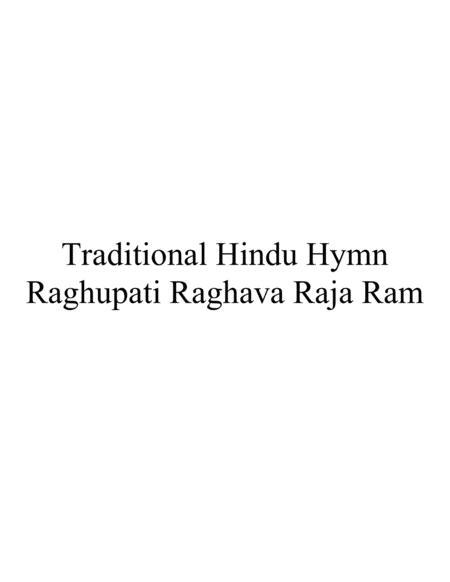 Raghupati Raghava Raja Ram