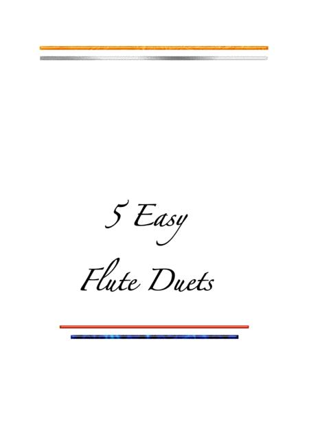 5 Easy Flute Duets