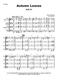 Autumn Leaves - Jazz Classic - Les feuilles mortes - Brass Trio Low