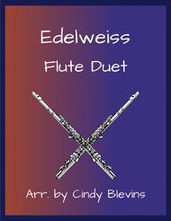 Edelweiss, arranged for Flute Duet