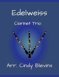 Edelweiss, arranged for Bb Clarinet Trio