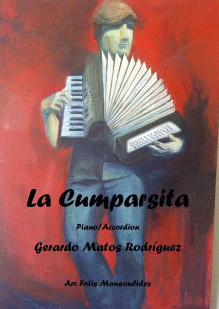 La cumparsita for accordion+piano