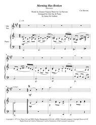 Cat Stevens: Morning Has Broken for Alto Sax & Piano