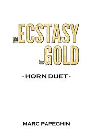 The Ecstasy Of Gold // French Horn Duet