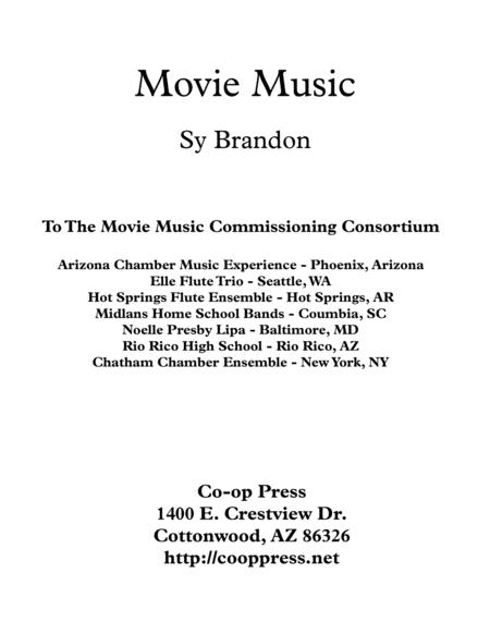Movie Music for Mixed Trio Eb Instrument Version