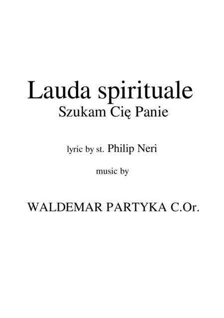 Lauda spirituale - Szukam Cię Panie