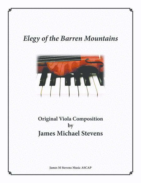 Elegy of the Barren Mountains - Viola & Piano