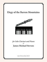 Elegy of the Barren Mountains - Clarinet & Piano